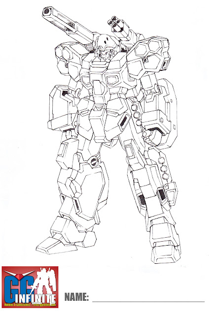 g gundam coloring pages - photo#47