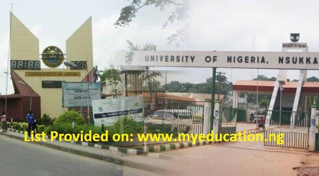 LIST: Nigerian Universities Offering Postgraduate Programmes in Nigeria