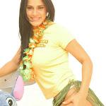 Andrea Rincon, Selena Spice Galeria 13: Hawaiana Camiseta Amarilla Foto 19