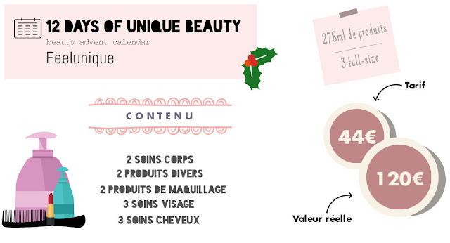 le bloc notes de carmen infographie infography advent calendar beauty