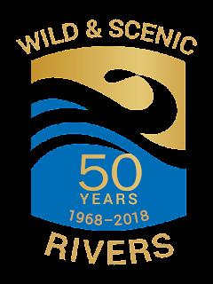 Wild & Scenic Rivers 50th anniversary logo