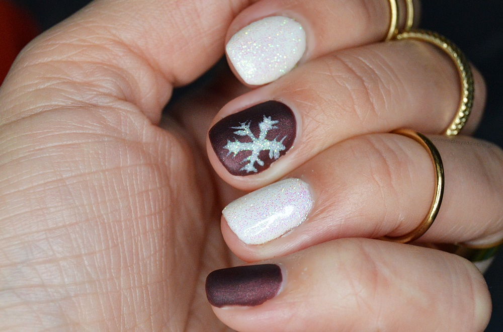 xmas nails, winter nails