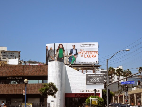 Mysteries of Laura NBC billboard