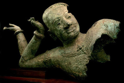 Large bronze workshop found near Angkor Thom