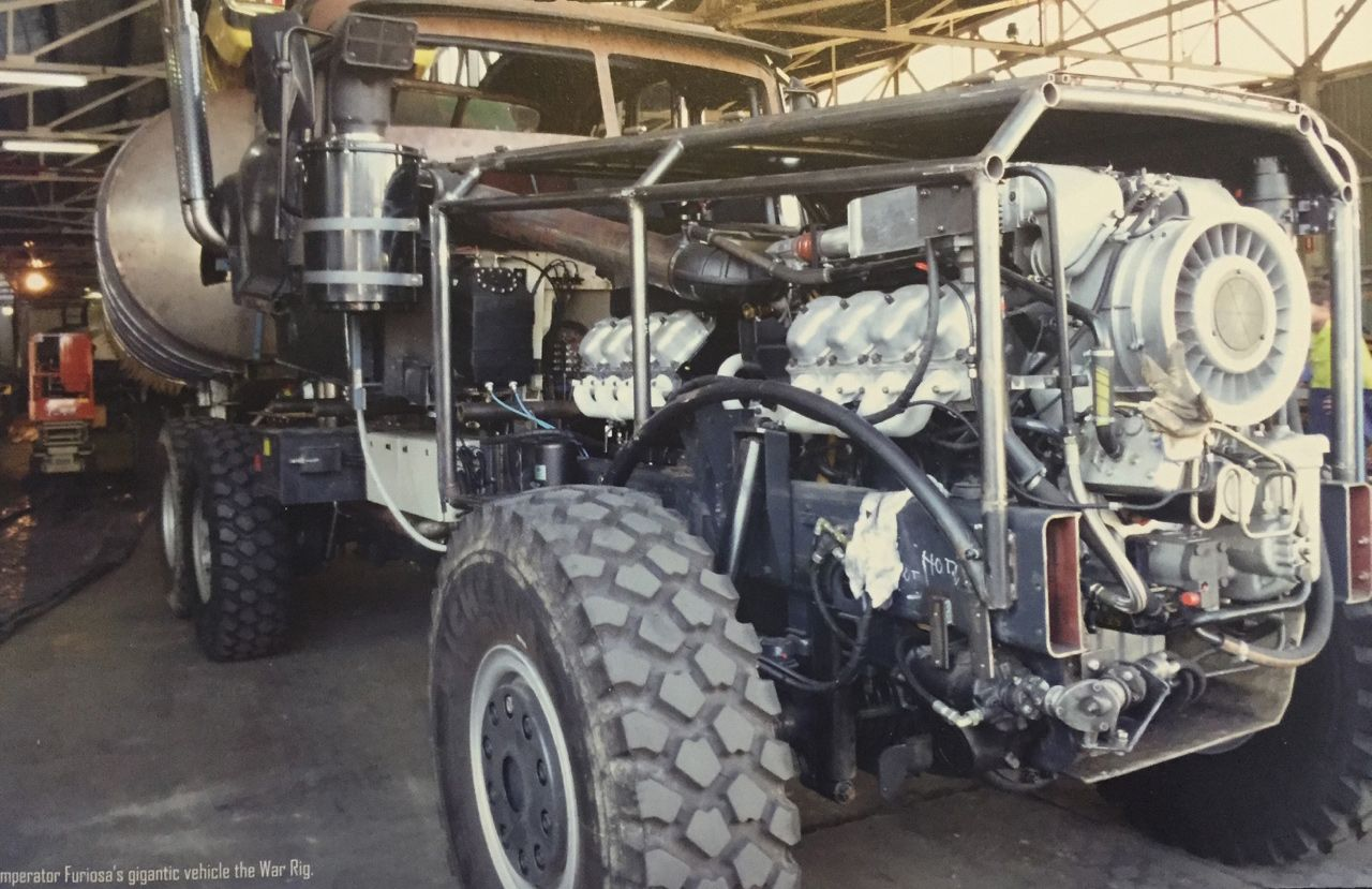 Fury Road Vehicles The War Rig
