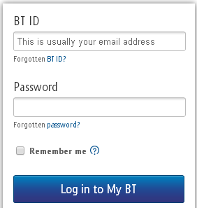 BT Broadband Login