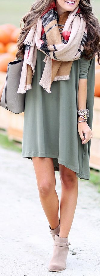 Grey Treandy Comfy Dress