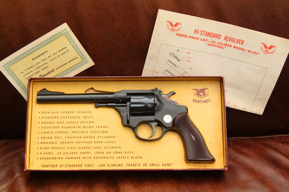 high standard pistol serial number lookup