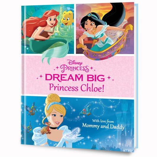 Put Me in the Story DREAM BIG Disney book review