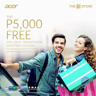 Acer PH x The SM Store December Holiday Promo