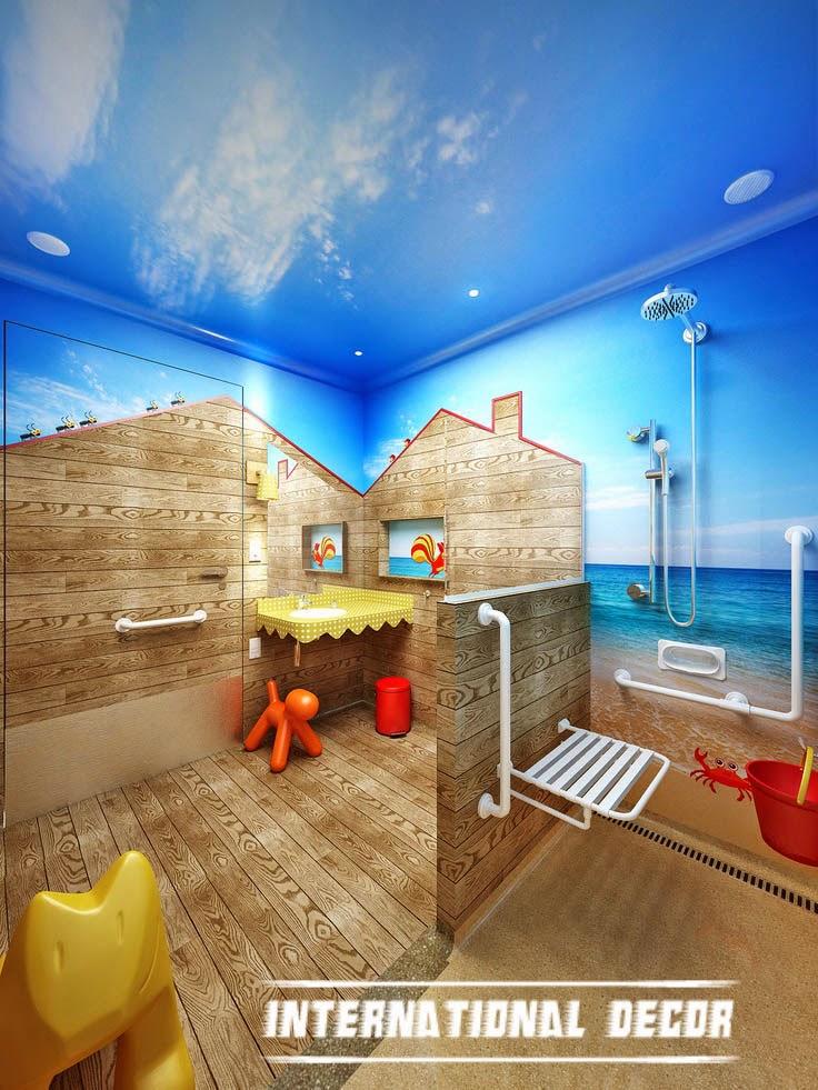 Fun ideas for kids bathroom decorations on Fun Bathroom Ideas  id=91349