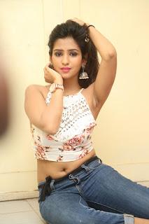 Deekshita Parvathi in a short crop top and Denim Jeans Spicy Pics Beautiful Actress Deekshita Parvathi January 2017 CelebxNext (189).JPG