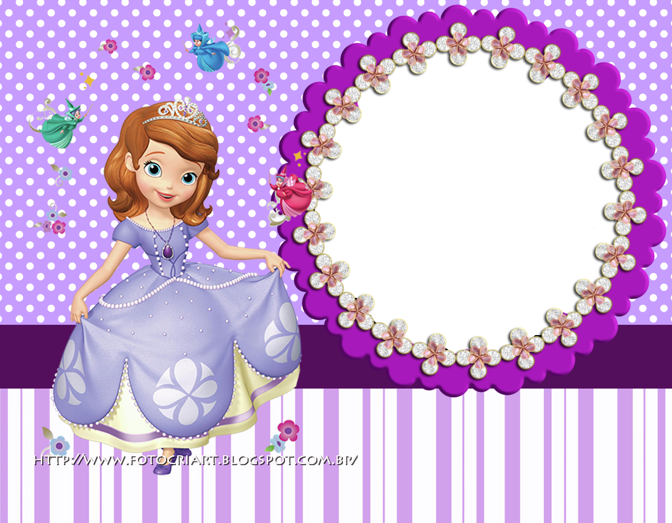 Fotocriart molduras da princesinha sofia - Foto princesa sofia ...
