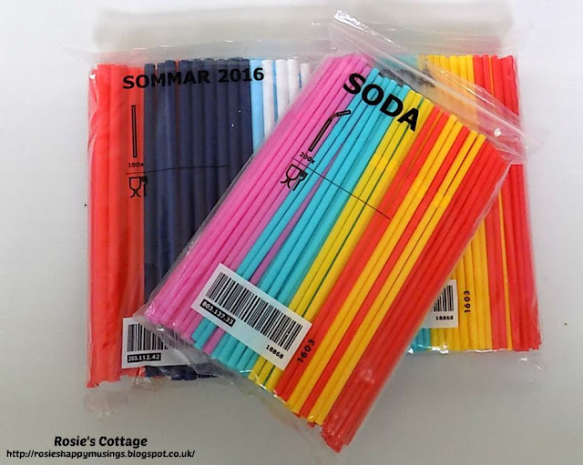 SODA & SOMMAR straws from Ikea