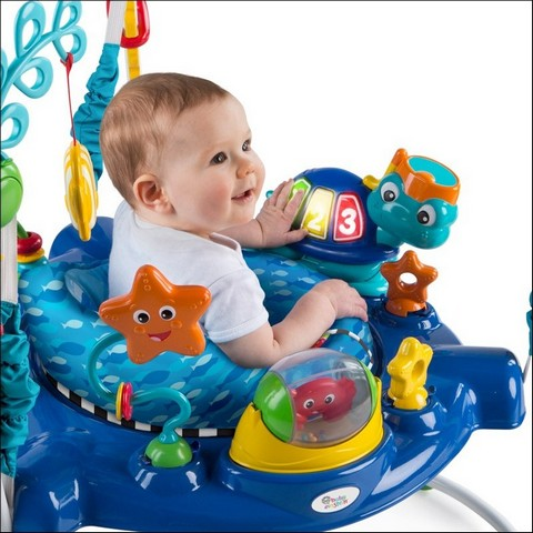 1e42571e8 Daily Tools  Baby Einstein Neptune s Ocean Discovery Jumper Bright ...