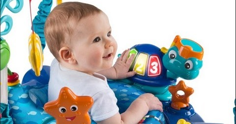 55e50c163 Daily Tools  Baby Einstein Neptune s Ocean Discovery Jumper Bright ...