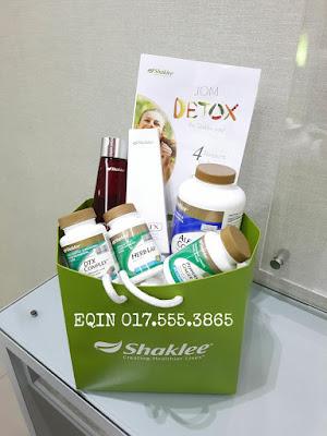 Dapatkan set detox Shaklee dengan Eqin pengedar Shaklee Ipoh yang aktif.cara makan set detox Shaklee juga Eqin akan ajarkan Dan konsultasi percuma . kurus dengan set detox Shaklee.