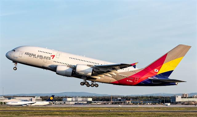 a380 asiana takeoff