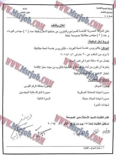 الاعلان الرسمي لوظائف وزارة التموين اليوم للمؤهلات العليا بجميع محافظات مصر 6 / 8 / 2018