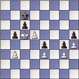 Estudio de Francesc Vivas Font, SEPA 162/3 1954, posición después de 5.d5