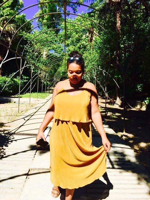 Gold Rush – The Perfect Birthday Dress .@hmunitedkingdom