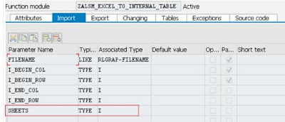 Converting Excel file data with multiple sheets to an internal table