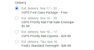 USPS shipping fees