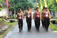 Meriahkan 17 Agustus, Pelajar di Kota Bima Mulai Latihan Gerak Jalan