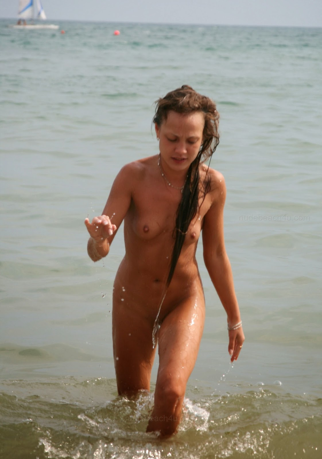 Nudism - Photo - Hq  Nudists Teens - Crimea Nude Beach - Rus-8354