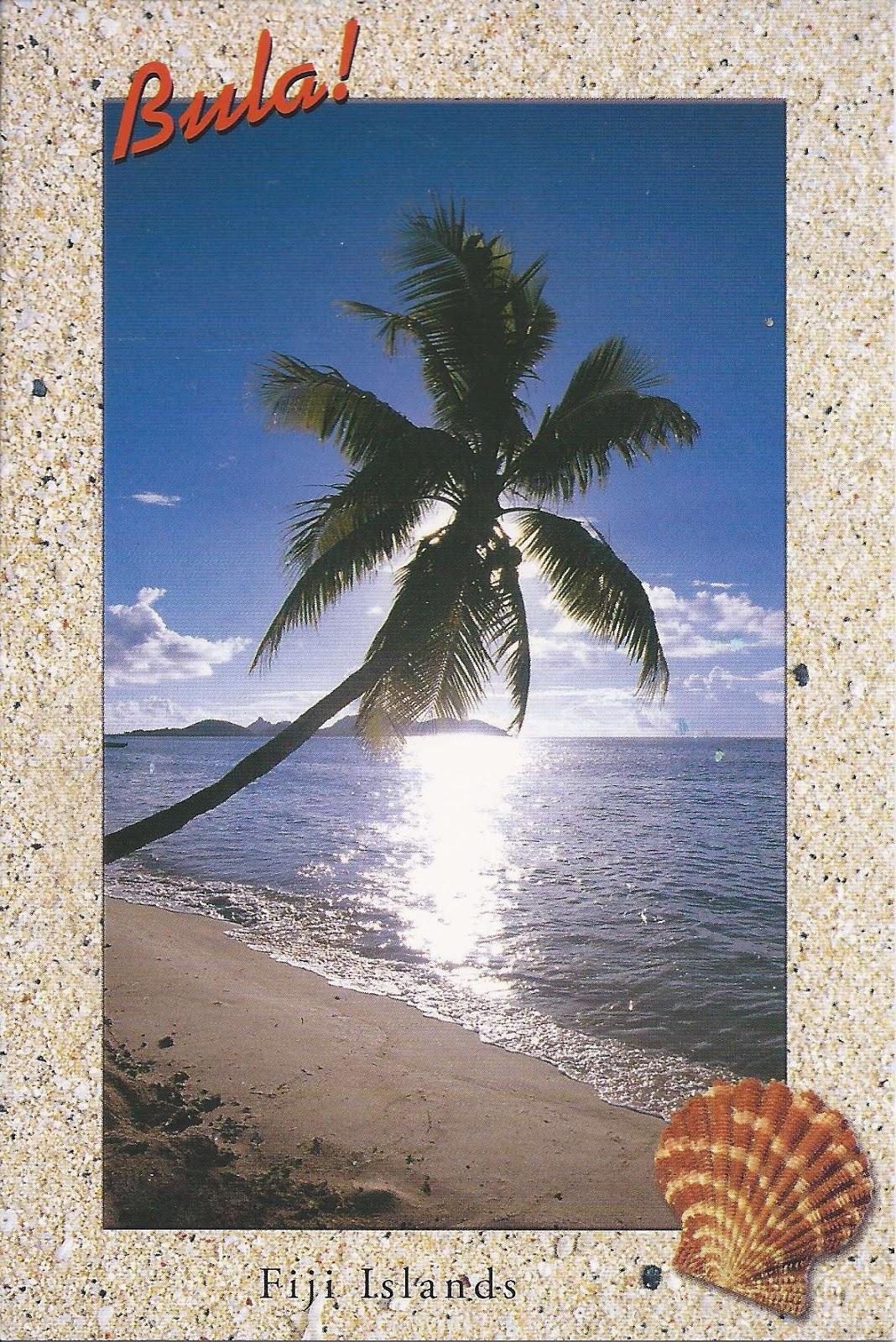 A Journey Of Postcards: Bula! From Fiji Islands
