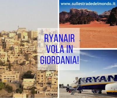 Ryanair giordania