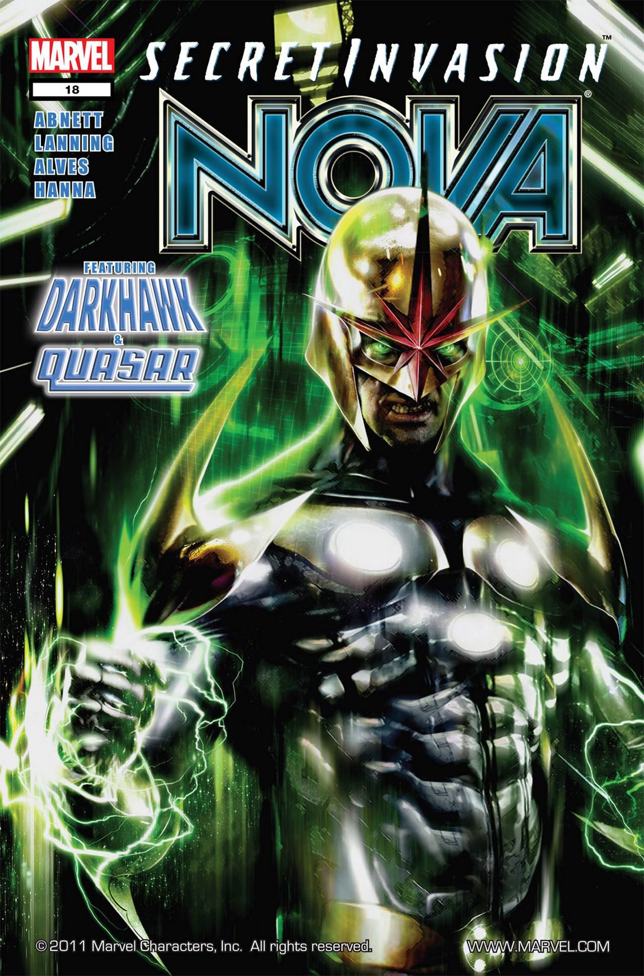 Nova (2007) issue 18 - Page 1