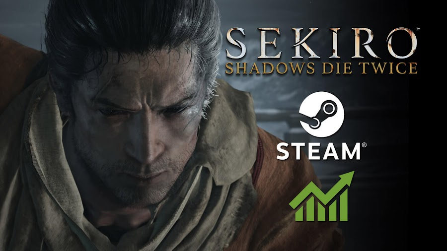 sekiro shadows die twice steam most played 2019