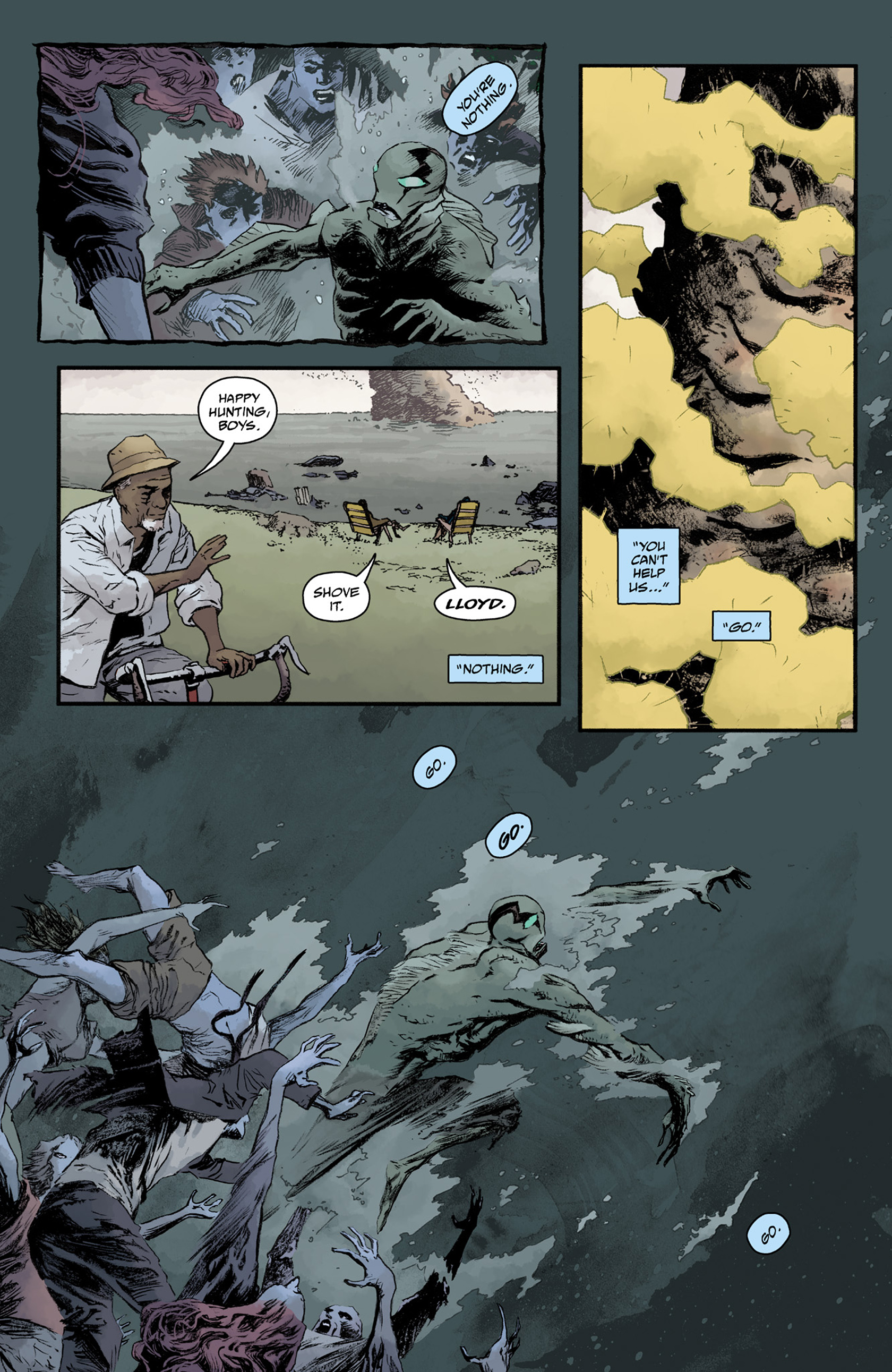 Read online Abe Sapien comic -  Issue #25 - 23