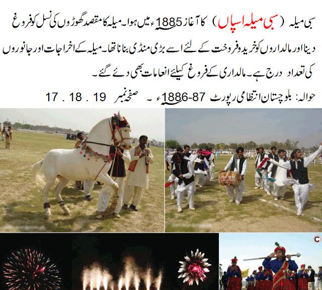 Sibi Horse Fair 1885