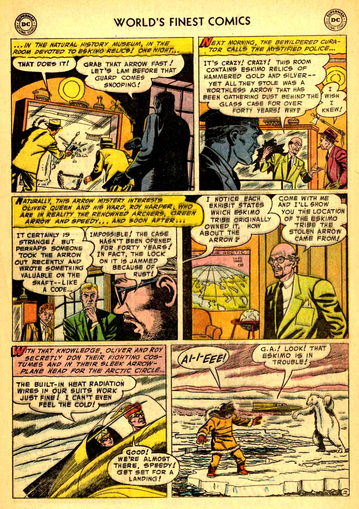 Read online World's Finest Comics comic -  Issue #77 - 18