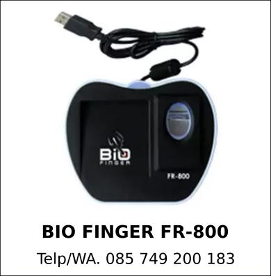 Jual Mesin Absensi Bio Finger AT-620 Asli Berkualitas