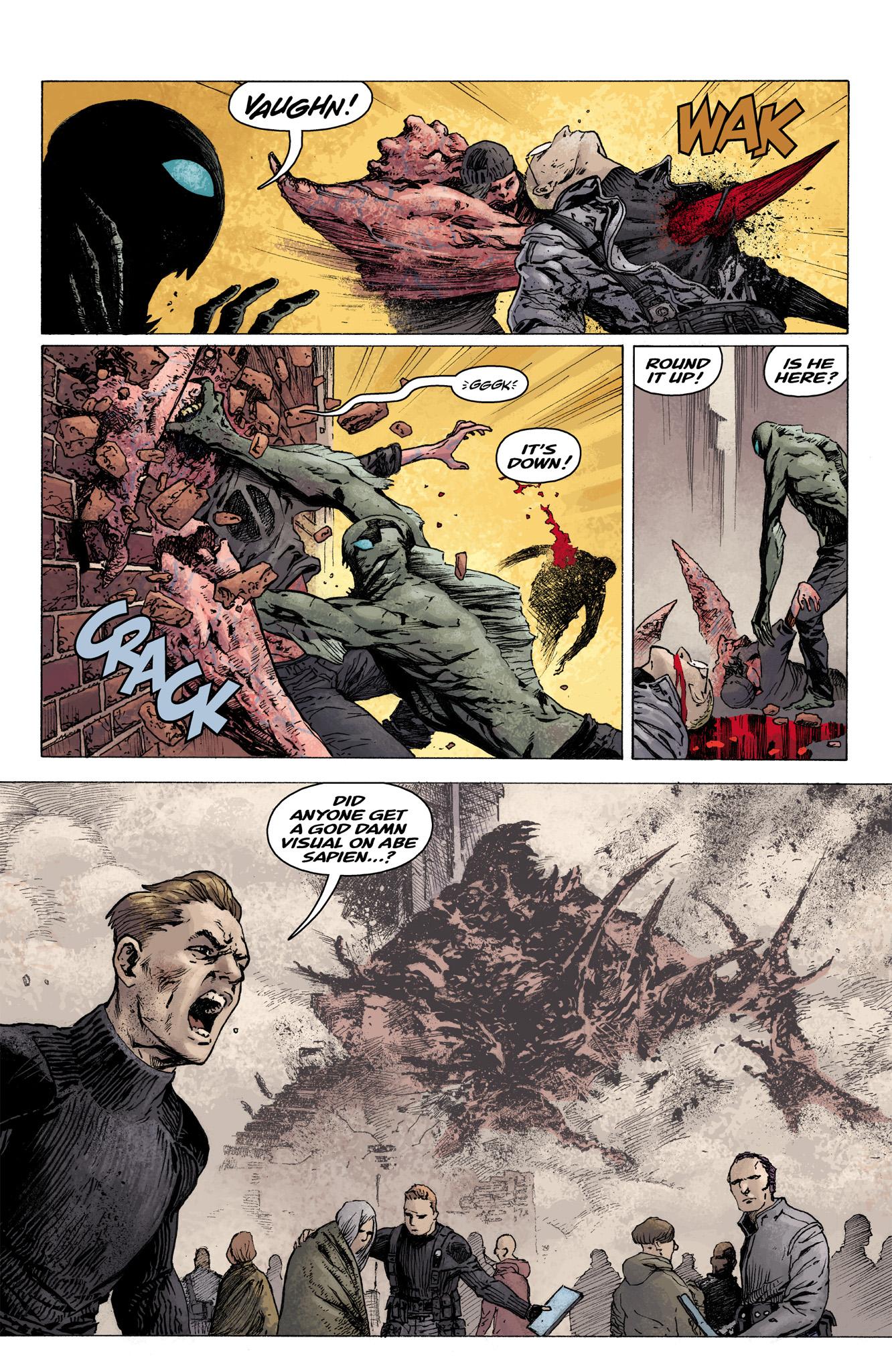 Read online Abe Sapien comic -  Issue #3 - 22