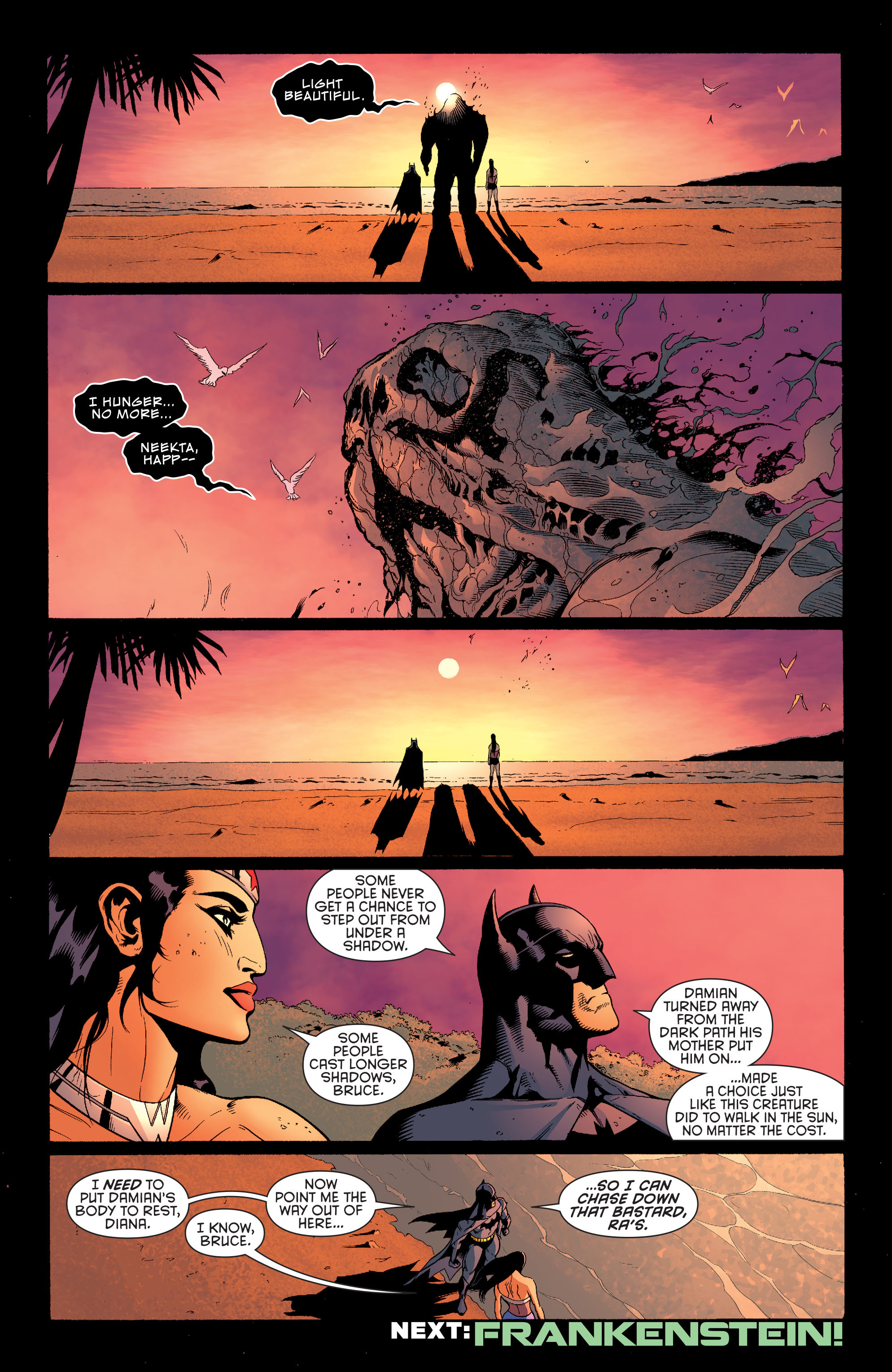 Read online Batman and Robin (2011) comic -  Issue #30 - Batman and Wonder Woman - 20