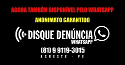 Whatsapp do Disque Denúncia