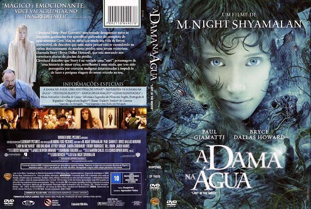 Capa DVD A Dama na Água