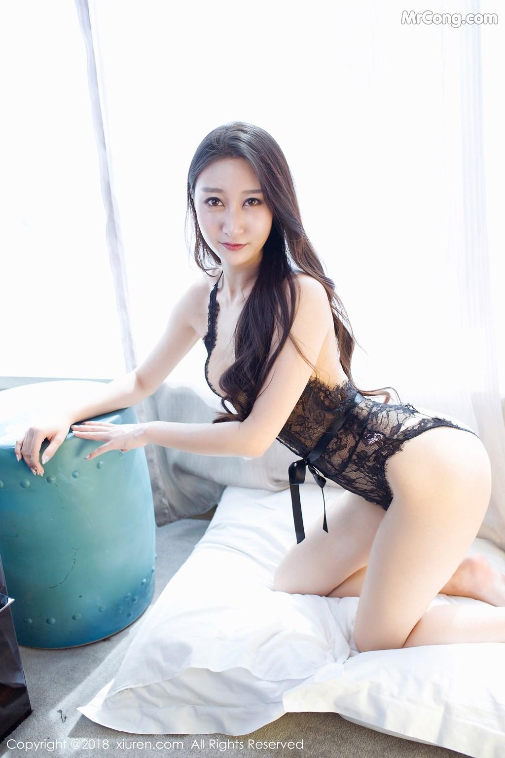 Image XIUREN-No.918-Zhao-Xi-Er-MrCong.com-008 in post XIUREN No.918: Người mẫu Zhao Xi Er (赵熙儿) (48 ảnh)
