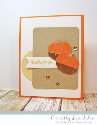 Thankful for You card-designed by Lori Tecler/Inking Aloud-stamps and dies from SugarPea Designs