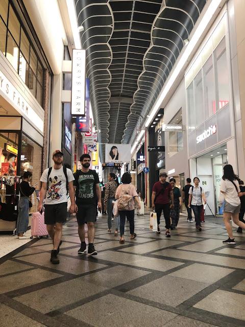 Visite de Namba Osaka