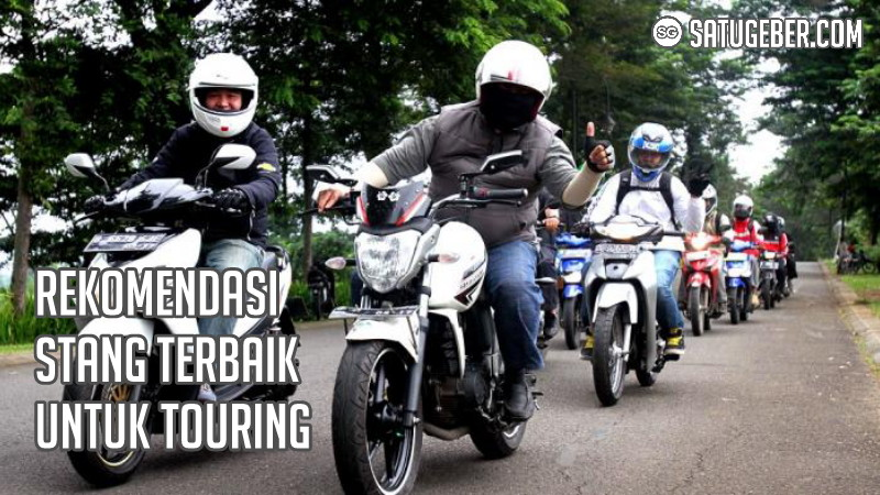gambar stang motor terbaik untuk touring