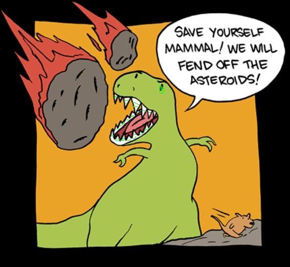 asteroid dinosaur mammals - photo #27