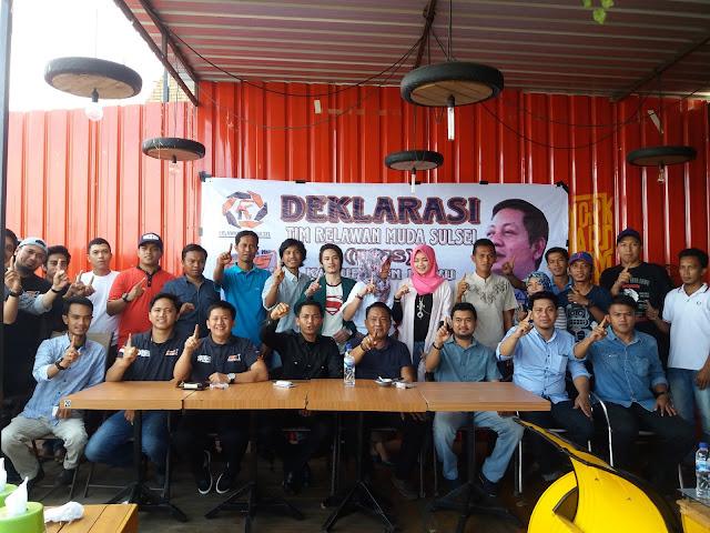 Resmi Terbentuk, Relawan Muda RMS Luwu Siap Bekerja Dengan Loyal