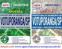 Apostila para o concurso da Prefeitura de Votuporanga SP 2017
