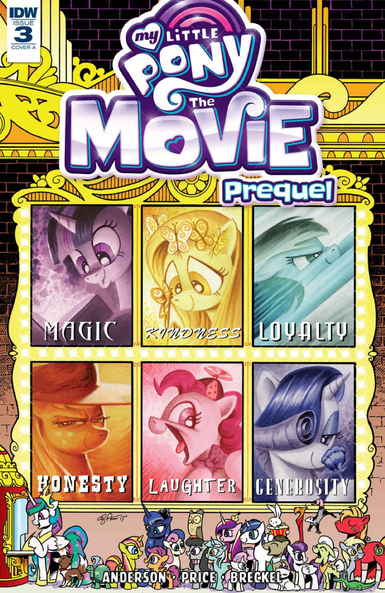 My Little Pony: The Movie Prequel 3 Page 1
