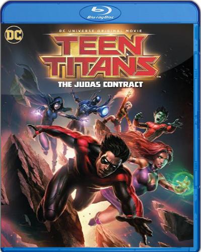 Teen Titans: The Judas Contract [2017] [BD25] [Latino]